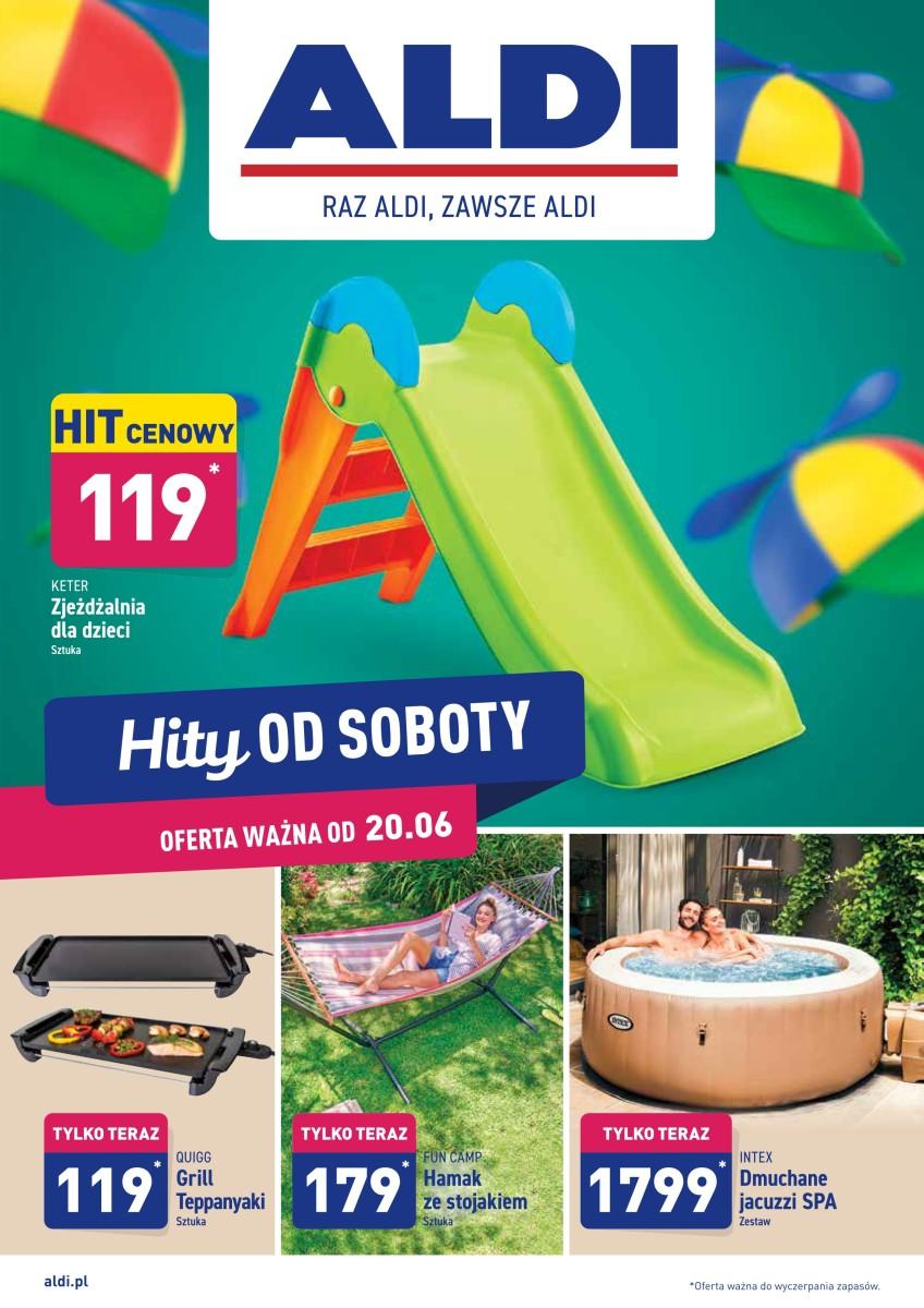Gazetka Aldi - Hity od soboty  20.06