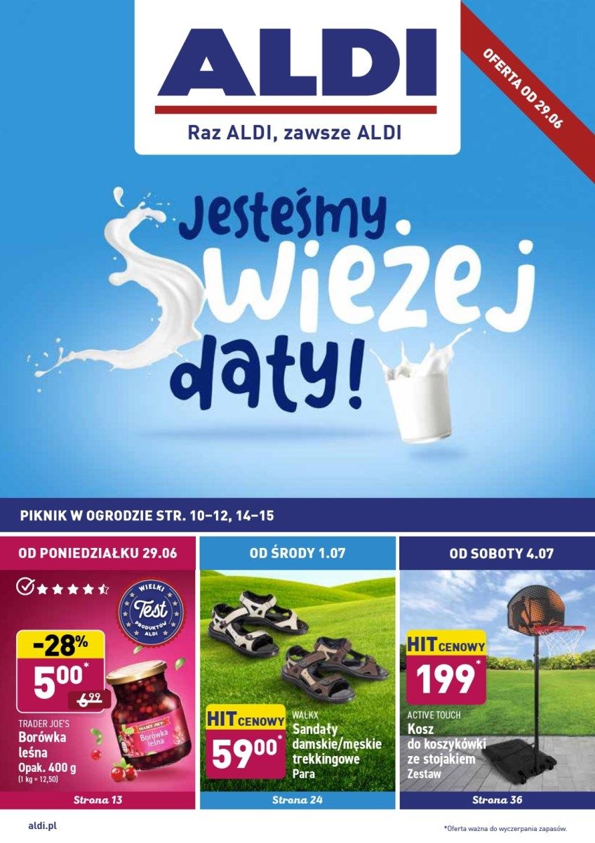 Gazetka Aldi - Okazje tygodnia od 29.06