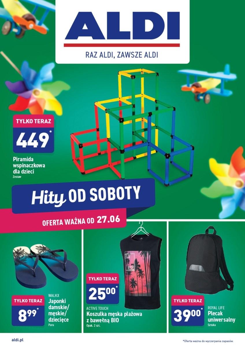 Gazetka Aldi - Hity od Soboty 27.06