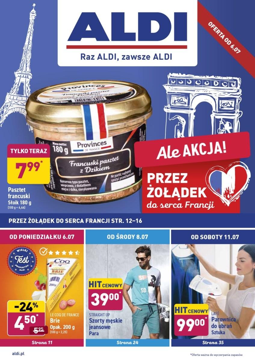 Gazetka Aldi - Okazje tygodnia od 06.07