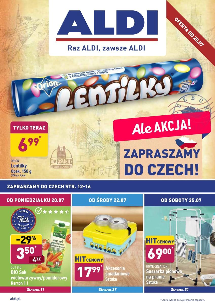 Gazetka Aldi - Okazje tygodnia od 20.07