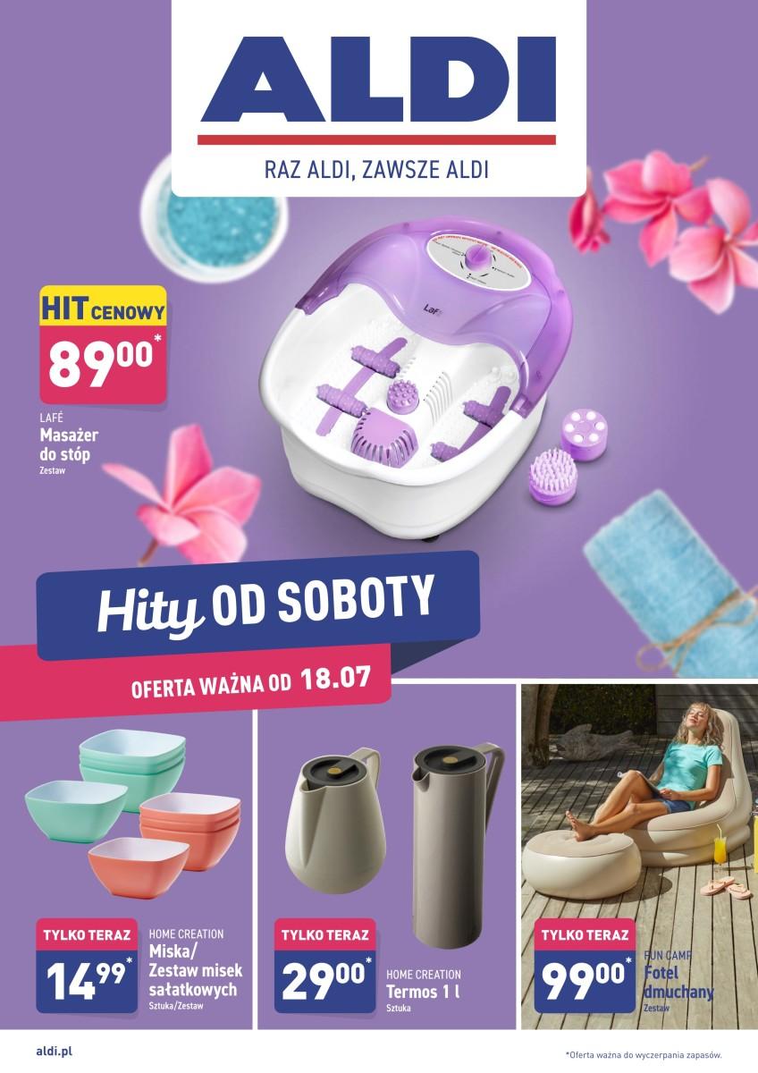 Gazetka Aldi - Hity od soboty 18.07